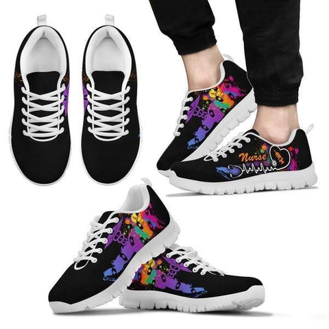 Nurse Colorful Sneakers - Sneakers - EZ9 STORE