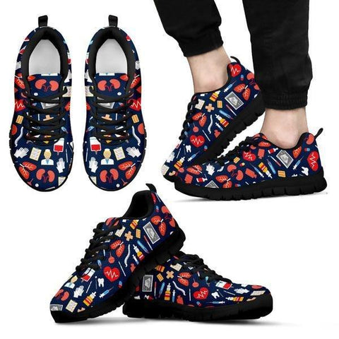Image of Nurse Icons Seamless Sneakers -  Sneakers - EZ9 STORE