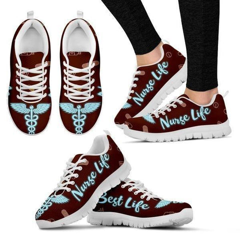Image of Nurse Life - Best Life Sneakers -  Sneakers - EZ9 STORE