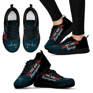 Nurses Are Awesome Sneakers -  Sneakers - EZ9 STORE