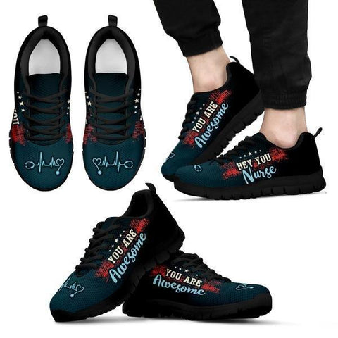 Image of Nurses Are Awesome Sneakers -  Sneakers - EZ9 STORE