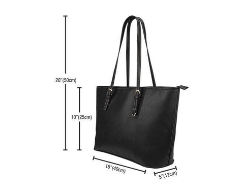 Image of Nurses Leather Tote Bag -  Leather Tote Bag - EZ9 STORE