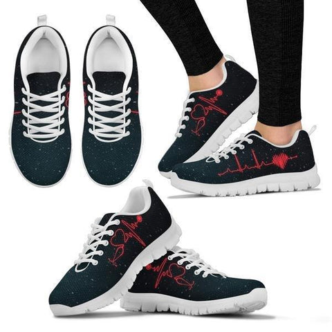 Image of Nursing Heartbeat Sneakers - Sneakers - EZ9 STORE