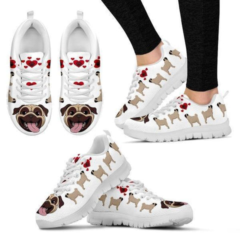 Image of Pug Lover Sneakers -  Sneakers - EZ9 STORE
