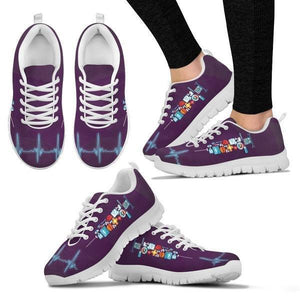 Syringes Heartbeat Sneakers -  Sneakers - EZ9 STORE