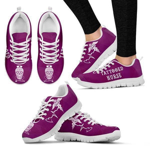 Tattooed Nurse Sneakers -  Sneakers - EZ9 STORE