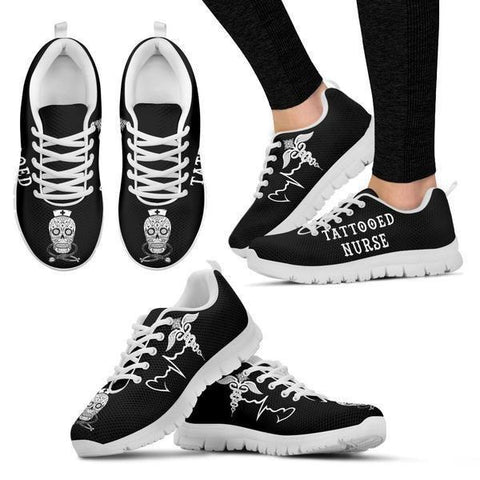 Image of Tattooed Nurse Sneakers -  Sneakers - EZ9 STORE