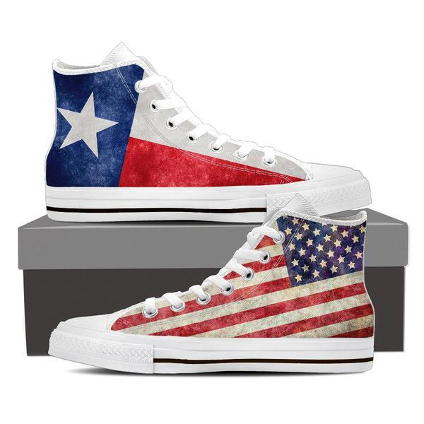 Texan High Top Canvas Shoes