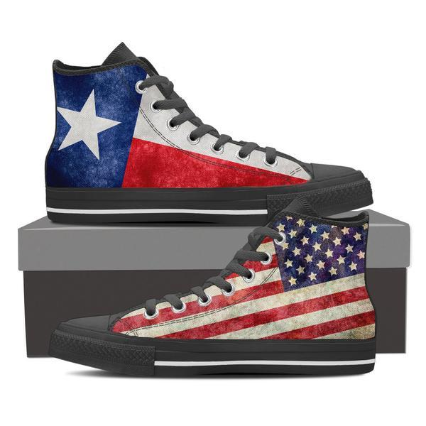 Texan High Top Canvas Shoes -  High Top Canvas Shoes - EZ9 STORE