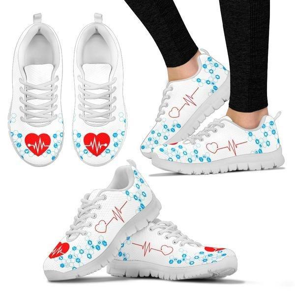 The Nurse's Heartbeat Sneakers