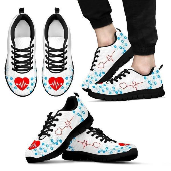 The Nurse's Heartbeat Sneakers - Sneakers - EZ9 STORE