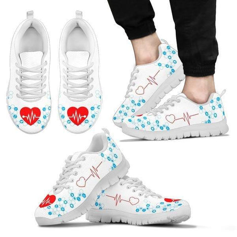 Image of The Nurse's Heartbeat Sneakers - Sneakers - EZ9 STORE