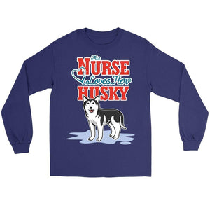 This Nurse Love Her Husky -  Shirts - EZ9 STORE