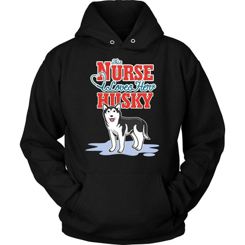 Image of This Nurse Love Her Husky -  Shirts - EZ9 STORE