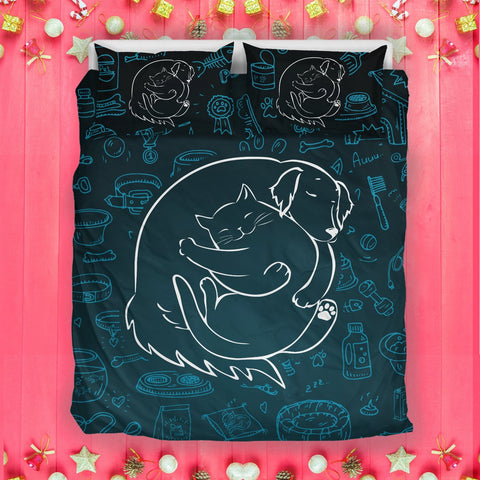 Image of VET Cute Bedding Set -  Bedding Set - EZ9 STORE