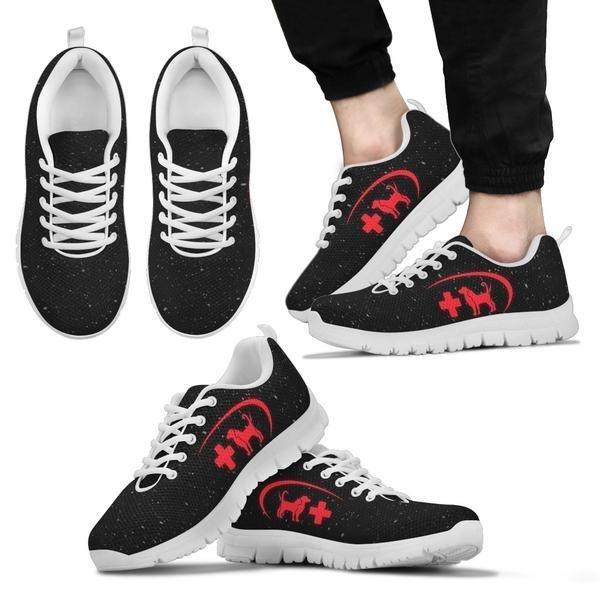 VET - Red Cross Sneakers - Sneakers - EZ9 STORE