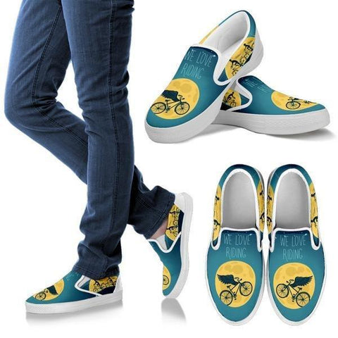 Image of We Love Riding Slip Ons -  Slip Ons - EZ9 STORE