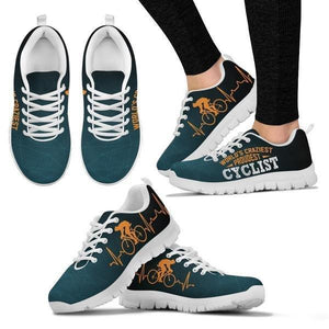World's Craziest, Proudest Cyclist Sneakers -  Sneakers - EZ9 STORE