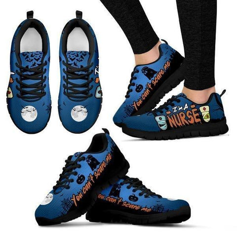 Image of You Can't Scare A Nurse Sneakers -  Sneakers - EZ9 STORE