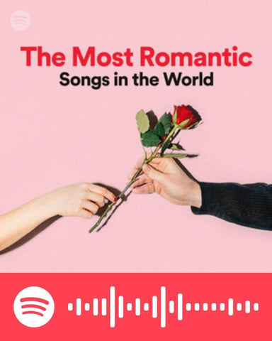 Album cover for the most romantic love songs in the world