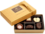 6 pc Gold Godiva Chocolate
