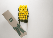 Yellow Roses Gift Box 50