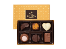 Godiva Gold assorted Chocolate Gift Box (14pc) - Roses Only