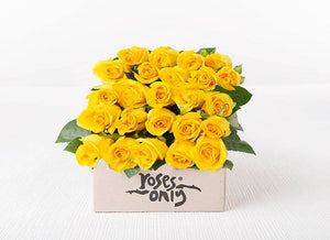 Yellow Roses Gift Box 24