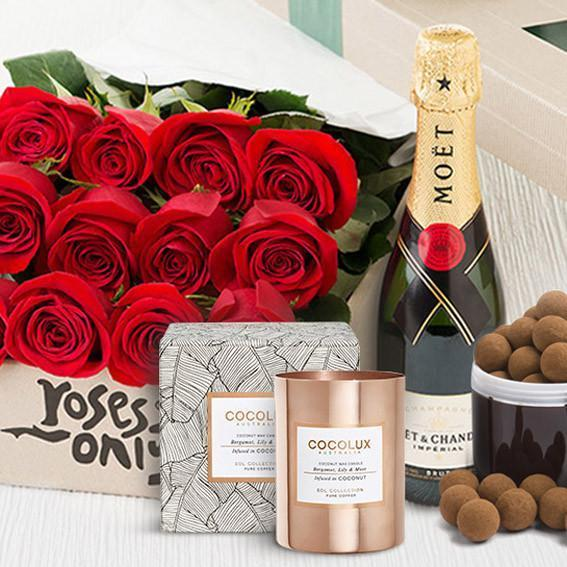 Roses Only Signature Box & Chocolates