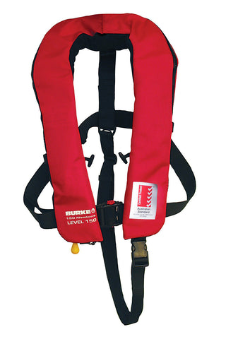 Burke 150N Winner Zip Manual Inflatable PFD