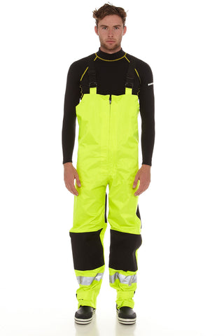 Burke Hi-Vis Safety Bib and Brace Trousers
