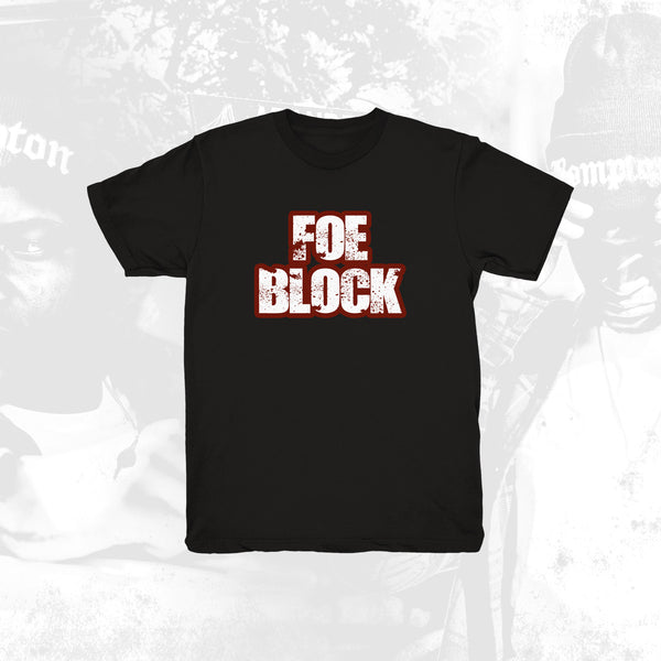 Foe Block Black Tee