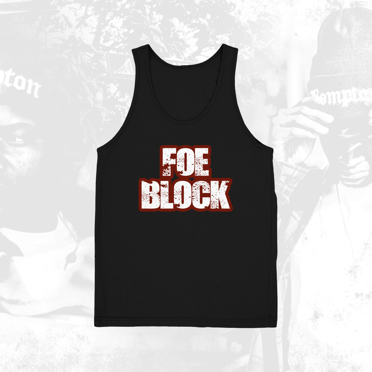 Foe Block Black Tank
