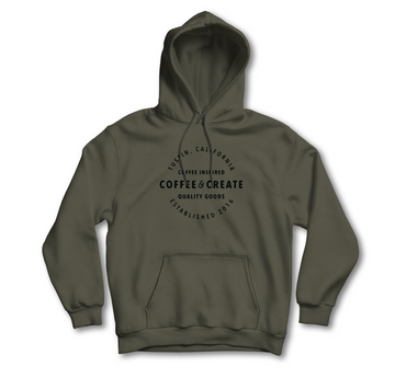 Foundation Hoodie - Military Green