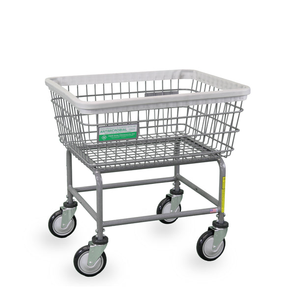 R&B Wire 100E/ANTI Antimicrobial Laundry Cart