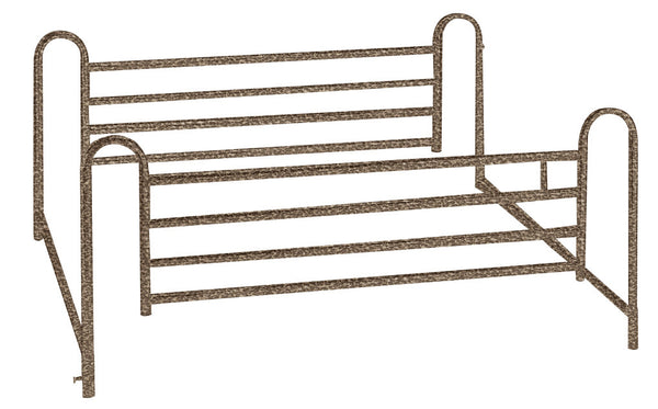 Full Length Hospital Bed Side Rails, 1 Pair (15001ABV)