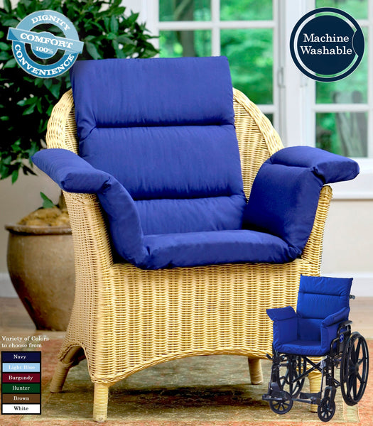 CareActive Total Chair Cushion Navy One Size (207-0-NAV)
