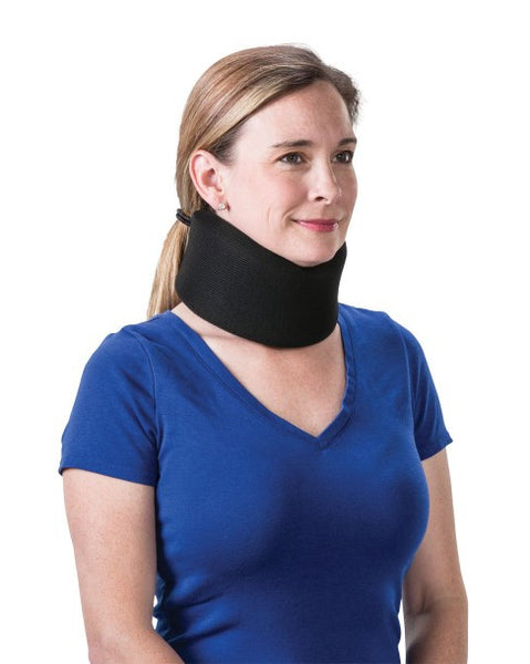 "Core Products 3.5"" Foam Cervical Collar Universal Black  (CLR-6262)"