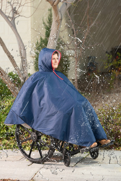 CareActive Wheelchair Rain Poncho Tan One Size (9660-0-TAN)