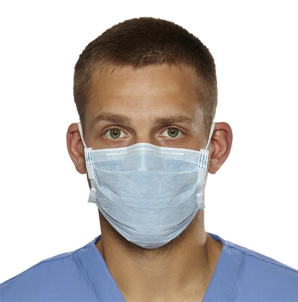 Biomask Antiviral Face Masks,Blue (50/Box) (BIOM2001A) - MEDLINE Shop Now at LifeSupply.com
