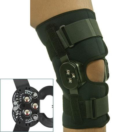 "Comfortland Hinged Knee Brace 12"" Exposed Hinge (CK-111)"