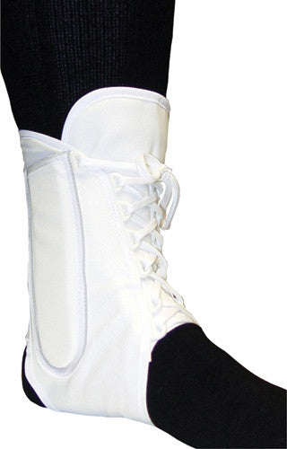 Core Products Lace Up Ankle Support Wht (XS-S-M-L-XL) 12/Case (AKL-6310)