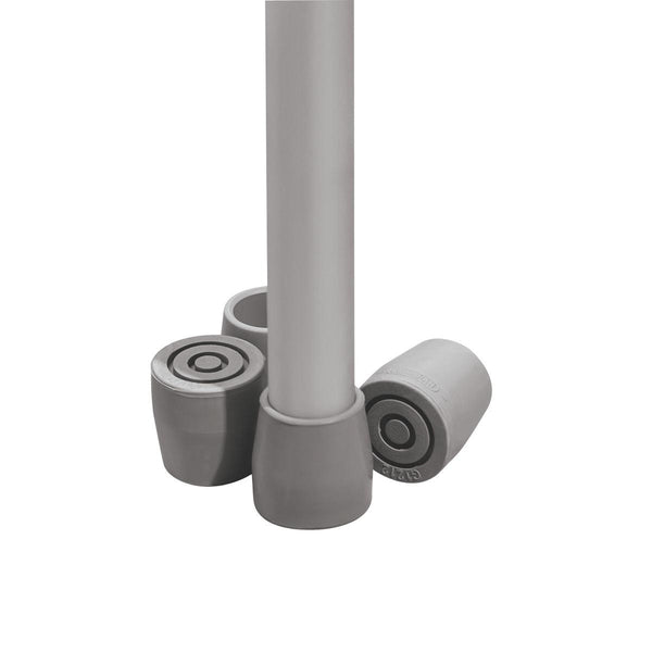"1"" Guardian Utility Tips,Gray (8Set/Case) (G01202) - MEDLINE Shop Now at LifeSupply.com"