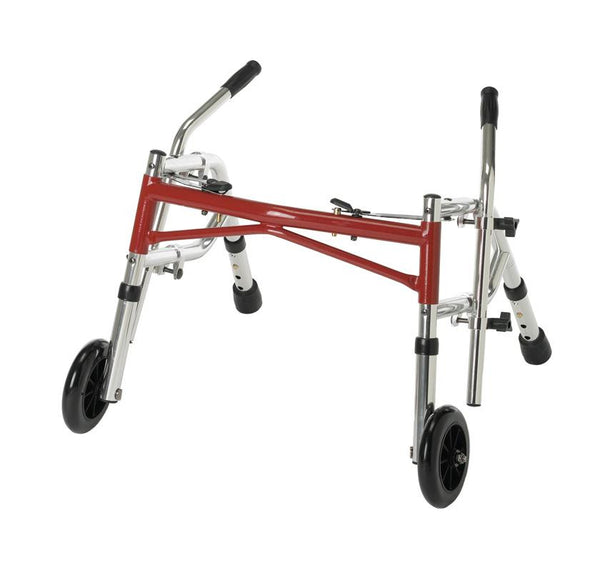 Pediatric Folding Walkers,Red,Not Applicable (G07782)