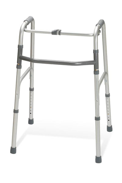 "Adult One-Button Folding Walkers,3"" OR 5"" (4/Case) (G30760P) - MEDLINE Shop Now at LifeSupply.com"