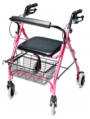 Walkabout Lite Four-Wheel Rollator (RJ4300P)
