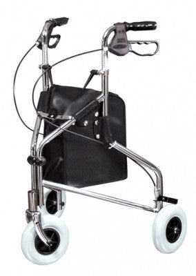 Sure-Gait II Three-Wheeled Steel Rollator (609101A)