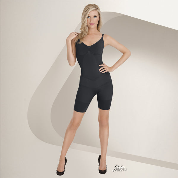 Julie France by EuroSkins® Boxer Body Shapers JF002, Black
