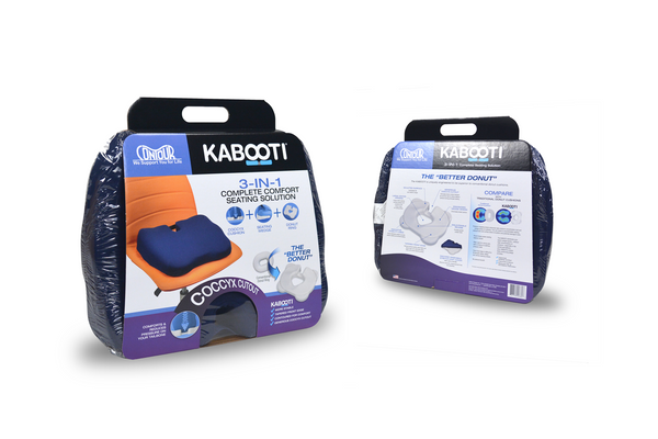 Contour Kabooti Ring - Gray Cover - New and improved (30-751RGY)
