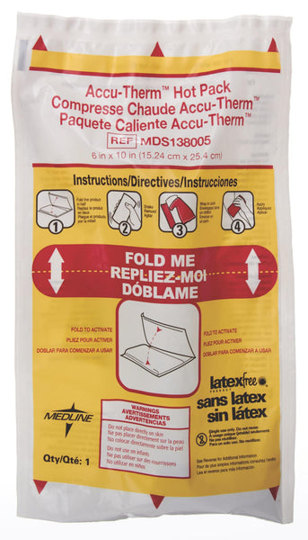 Accu-Therm Non-Insulated Hot Packs (24/Case) (MDS138005) - MEDLINE Shop Now at LifeSupply.com